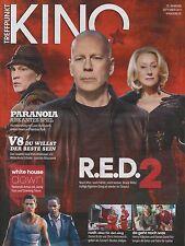 Treffpunkt Kino 29.Jhg September 2013 - R.E.D.2, White House Down, Planes