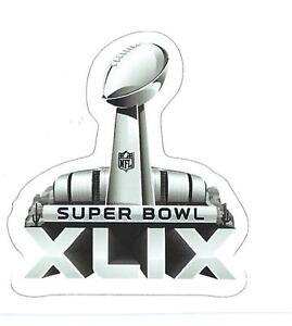 New England Patriots Super Bowl XLIX Logo Decal