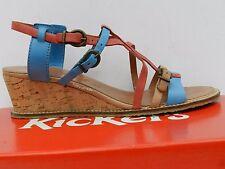 Kickers Submarine Chaussures Femme 40 Sandales Nu-pied Espadrilles Escarpins New