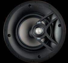"Polk Audio 6.5"" In Ceiling Wall Vanishing Speaker VT60 V60 Atmos Surround Theatr"