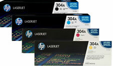 HP 4 Color Laserjet Toner Cartridge Set for CP2025 & CM2320 Series
