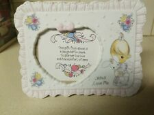 Precious Moments - Jesus Loves Me Girl Picture Frame