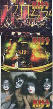 KISS - 1998 Promotional Trading Cards - Set of 3 Different