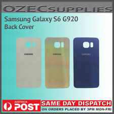 Original OEM Battery Back Glass Cover Replacement For Samsung Galaxy S6 G920