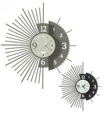 Orologi Orologio da parete muro moderno in ferro Miro design Arti e Mestieri