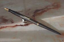 Rare und Vintage Kugelschreiber Stift Gold 18 Cts der Büro Abel Paris Fountain