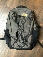 The North Face Borealis Backpack Black & GOLD Accents MINT CONDITION