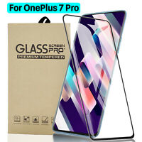 For OnePlus 7 Pro 9H Full Cover 3D Curved Tempered Glass Screen Protector 1/2PCS