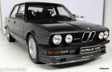 OTTO SCALA 1/18 ot650 BMW ALPINA b7 Turbo Metallizzato Grigio e28 m5 Auto modello in resina