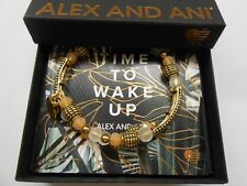 Alex and Ani Terra Destiny Wrap Bangle Bracelet Rafaelian Gold