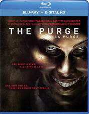 The Purge (Blu-ray/DVD Disc, 2015-2-Disc SET-FREE SHIPPING IN CANADA