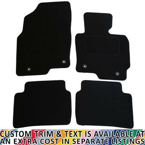 For Mazda CX-5 MK1 2012-2017 Fully Tailored 4 Piece Car Mat Set with 4 Clips