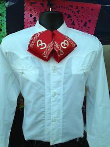 Mexican Western Shirt Charro, Mariachi. Camisa Charra y de Mariachi Mexicana