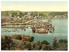 3 Victorian Views of Rothesay Castle East & West Bay Vintage Old Photos Pictures