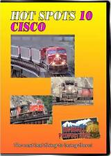 Hot Spots 10 Cisco BC DVD NEW Highball Canada Fraser River Canyon CP CN