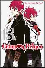 mangas Crimson Prince tome 13 Shonen Sota Kuwahara Ki-Oon Livre Neuf Square Enix
