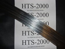 "4 - 9"" HTS-2000 2nd Generation Aluminum Welding Rods or Aluminum Repair Rods"