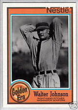 WALTER JOHNSON 1987 Topps Nestle #9