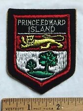 PRINCE EDWARD ISLAND Canada PEI Crest Coat of Arms Souvenir Sew-on Patch