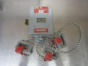 E-MON D-MON 208200 A.C. KILOWATTHOUR METER 4 WIRE 115/208V 200 AMPS