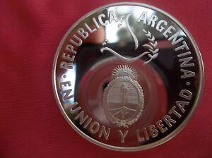 Argentina Peso, 1995, 50th Anniversary - U.N. ULTRA CAMEO PROOF