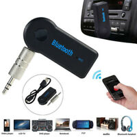 Wireless Bluetooth 3.5mm Car AUX Audio Music Stereo Hands- Receiver Adapter