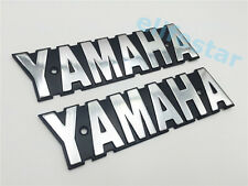 Metal Screw Hole Decals For Yamaha RXS LS100 XS650 Fuel Gas Tank Emblem Badge