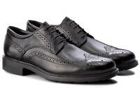 GEOX RESPIRA DUBLIN U34R2B scarpe uomo francesine inglesine sneakers pelle
