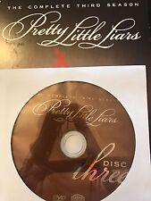 Pretty Little Liars - Season 3, Disc 3 REPLACEMENT DISC (not full season)