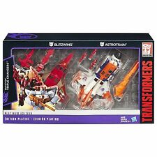 Transformers Platinum Edition Decepticon Triple Changers Action Figure