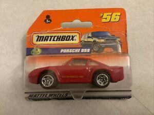 Matchbox Old Porsche 959 Model