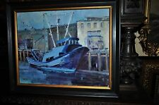 Fishing Boat   Painting   by well listed Idaho artist Terry Lee