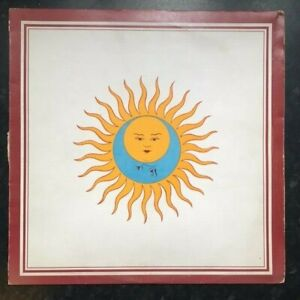 "King Crimson Larks' Tongues in Aspic 1973 Island Records UK Pressing 12"" Vinyl"