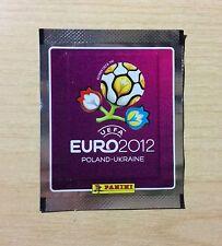 "BUSTINA SIGILLATA FIGURINE PANINI ""EURO 2012"" - BORDO ARGENTATO - RARA"