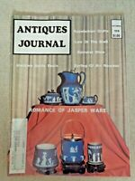 Antiques Journal Seashells Medicine Bottle Beads Wedgwood Jasper Ware Baccarat