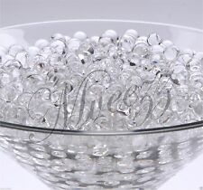 400 Water Beads Crystal Bio Soil GEL Ball Wedding Vase Vase Filler Party Clear