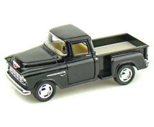 1955 Chevy Stepside Pickup KINSMART Diecast 1:32 Scale Black FREE SHIPPING