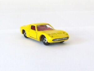 Vintage Lesney Matchbox #33 Lamborghini Miura Regular Wheel NEAR MINT 1969