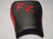 HONDA 04/05/06/07 CBR 1000RR BLACK/RED CUSTOM FRONT & REAR SEAT COVERS