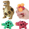 Squishy Anti Stress Dinosaur Grape Ball Reliever Squeeze Relief Kids Tricky Toys