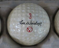 (1) TOM WEISKOPF SIGNATURE LOGO GOLF BALL ( MACGREGOR CIR 1967 / 1968) #3