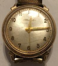 Handsome Rare Vintage Estate Bulova Accutron M7 10 Karat GF Wrist Watch AU145