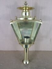 Progress Lighting P5846-10 Polished Brass Wall Mount Outdoor Lantern