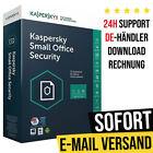 Kaspersky Small Office Security | 5 oder 10 Geräte + Mobilgeräte + 1 Server |  <br/> 24h-Kunden-Support✔ Rechnung✔ DE-Händler✔ Anleitung✔