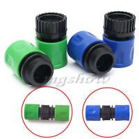 """3/8"""" Home Garden Water Hose Pipe Tap Connector Tube Fitting Adaptor Male/Female"""