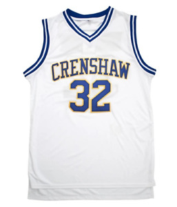 NWT RAAVIN Monica Wright #32 Crenshaw High School Basketball Jersey Medium