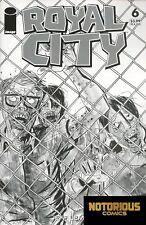 Royal City #6 Walking Dead #16 B&W Tribute Variant Image Comics 1st Print 10/11