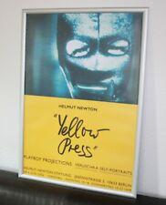 Helmut Newton Poster Yellow Press