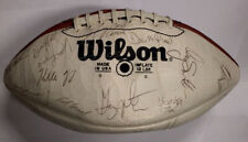 NFL Wilson Football Signed by 1984 Los Angeles Rams Team