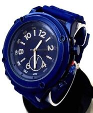 Men's Sport Watch Mark Naimer MN8083 Blue Silicone Band Blue Case
